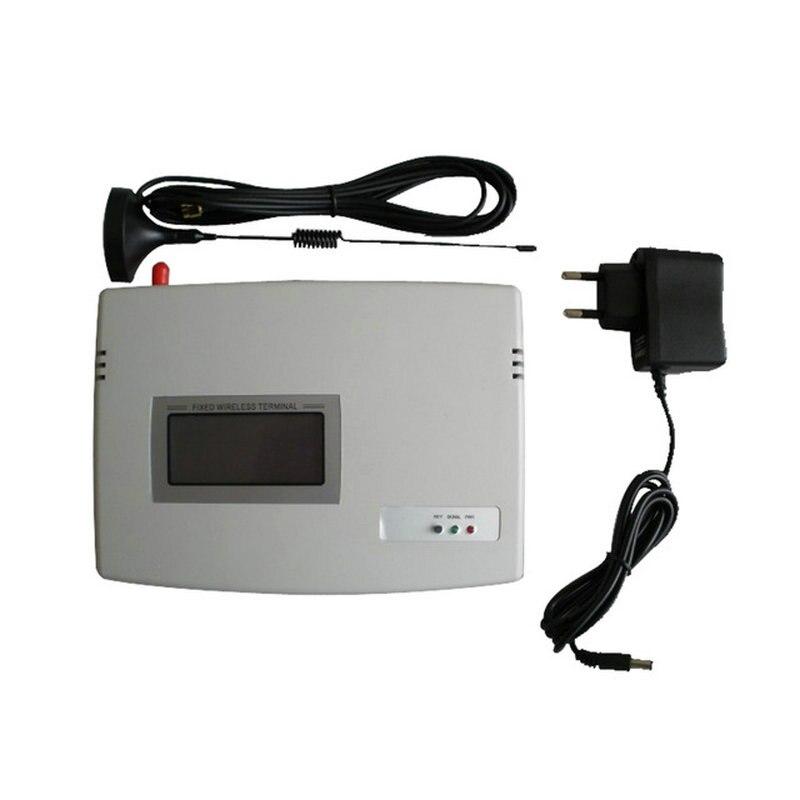 (1 set) SIM Carte GSM Dialer Fixe Sans Fil Terminal 900/1800 Mhz Pour Appeler traduire ou système D'alarme ÉCRAN LCD de Bonne qualité