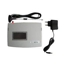 (1 zestaw) karta SIM GSM Dialer stały terminal bezprzewodowy 900/1800 Mhz do wywoływania tłumaczenia lub systemu alarmowego wyświetlacz LCD dobrej jakości