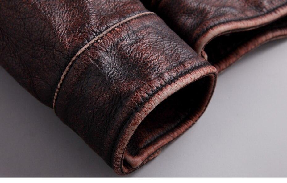 HTB1kRfjRbvpK1RjSZFqq6AXUVXaP mens cowhide jacket Vintage Men 100% genuine leather Jackets Cow Jackets Zipper Stand Streetwear Leisure cool warm coat 18687-5