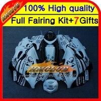Body For SUZUKI KATANA GSXF 600 750 03 04 05 06 07 Black white HM#9 GSXF600 2003 2004 2005 2006 2007 750F Fairing Scorpion