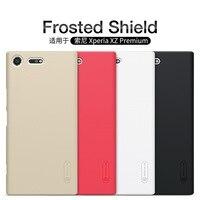 Para sony xperia xz premium e5563 caso nillkin fosco plástico escudo pc casos duros capa traseira escudo do telefone capa protetora coque
