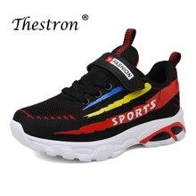 лучшая цена Super Cool Casual Boys Children Shoes Flats Kids Sneakers Designer Young Boys Running Shoes Black Blue Teenage Sport Shoes