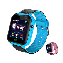DS37 Kids Smart Watch Anti Lost Children Watches IPX7 SOS GSM LBS Location Remote Camera Electronic Wrist