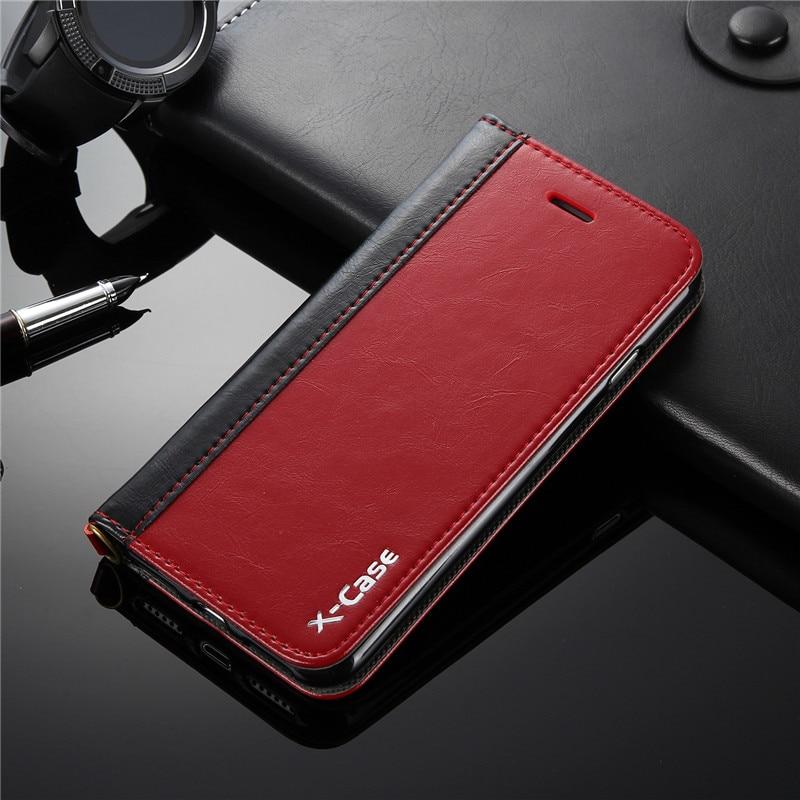 Pro kryt iphone 8 7 6 S Plus Luxusní originální kožené pouzdro pro iphone 6S 7 Plus 5 5S Peněženka se stojanem na karty Flip Kryt telefonu Capa