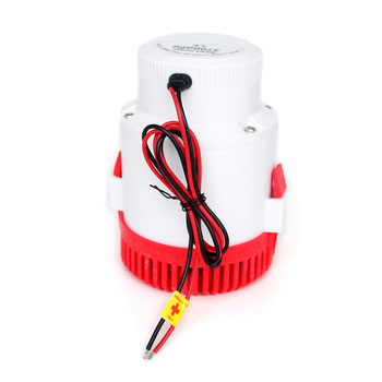 Большой поток Dc 12 V 24 V Трюмный насос с днищем Поплавковый выключатель 3000GPH Электрический водяной насос для лодок погружной 12 24 вольт 3000 Gph