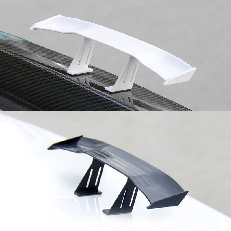 Car Spoiler Wings Small Tail Rear Trunk Spoilers For <font><b>Renault</b></font> <font><b>Koleos</b></font> Megane Scenic Fluence Laguna Velsatis image