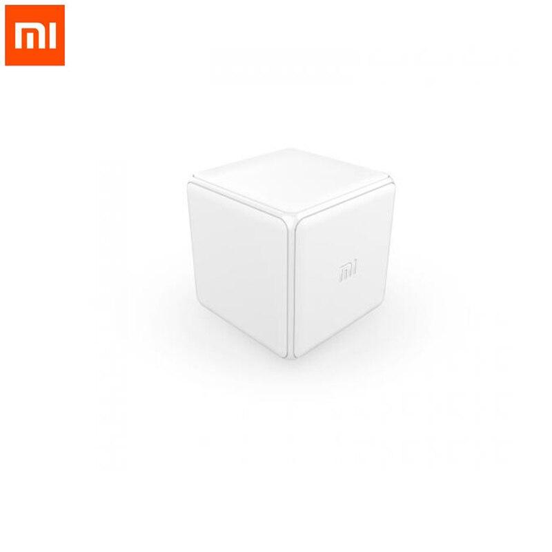 Xiaomi Mi Cubo Controller Versione Gateway Zigbee Controllato da Sei azioni con il Telefono App per la Casa Intelligente Dispositivo Smart TV presa