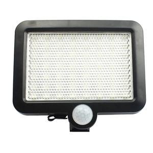 Image 4 - 56 Led Outdoor Solar Wandlamp Pir Motion Sensor Solar Lamp Waterdichte Infrarood Sensor Tuin Licht Voor Parken/Beveiliging straat