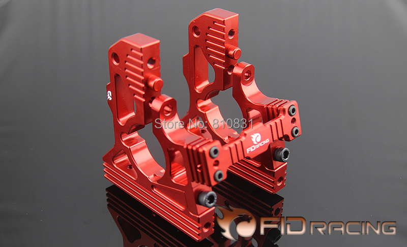 FID rear gearbox differential gearbox mounting bracket FOR LOSI DBXL fid rear axle c block for losi 5ive t mini wrc