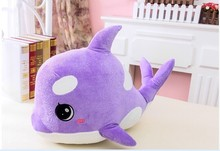 small size lovely plush creative dolphin plush  toy cute purple dolphin doll about 45cm