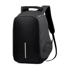Amarte Männer Anti-dieb Rucksäcke Große Kapazität Frauen Wasserdichte USB Externe Laptop Rucksack für Männlich Weiblich Reiserucksack