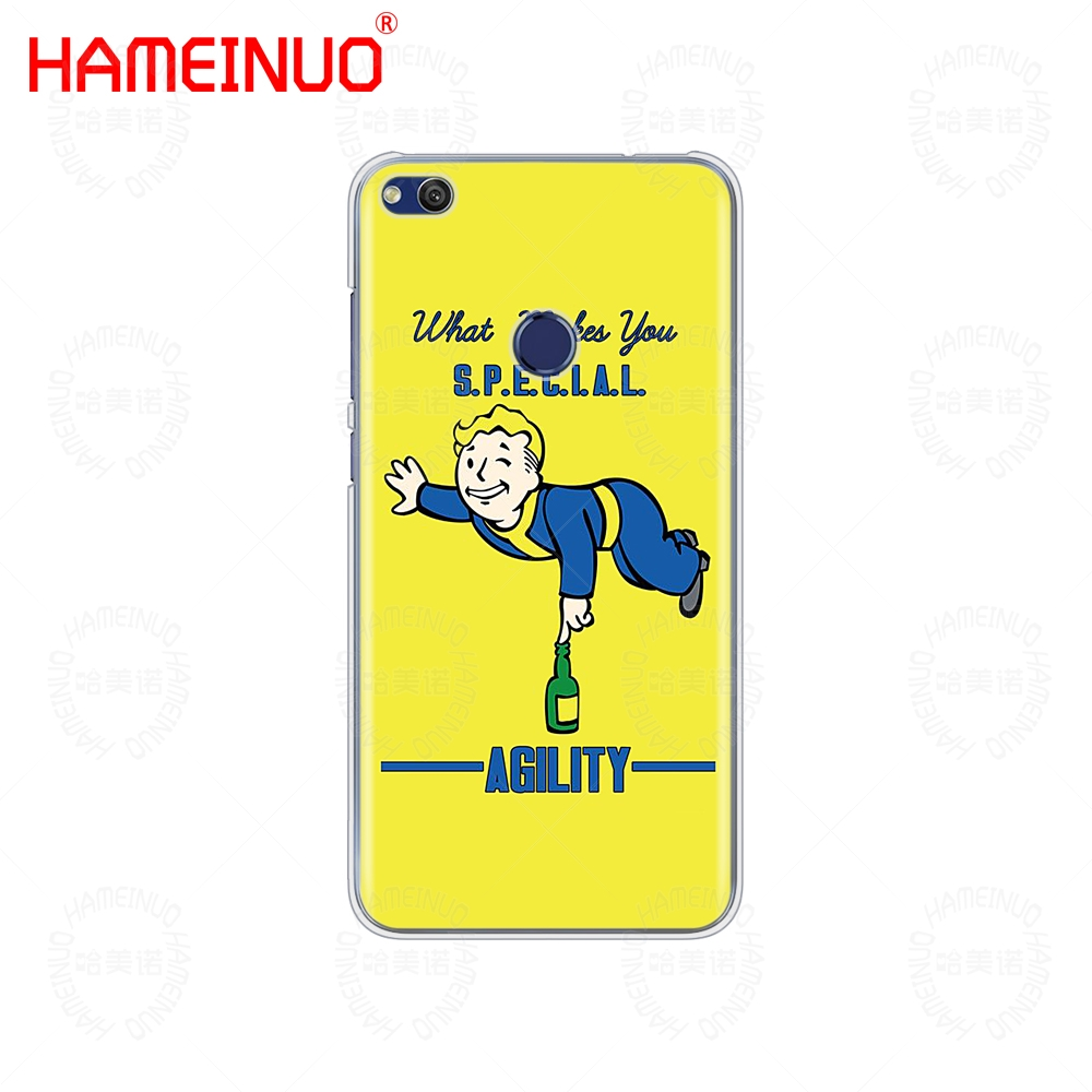 big sale 1aa82 75f66 US $2.48 |HAMEINUO Black Isle Studios game Fallout Cover phone Case for  huawei Ascend P7 P8 P9 P10 P20 lite plus pro G9 G8 G7 2017-in Half-wrapped  ...