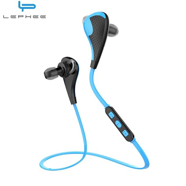 2149a564545 Lephee L03 Bluetooth Auriculares Inalámbricos Auricular Del Deporte Para El Iphone  x 8 7 Oneplus 5