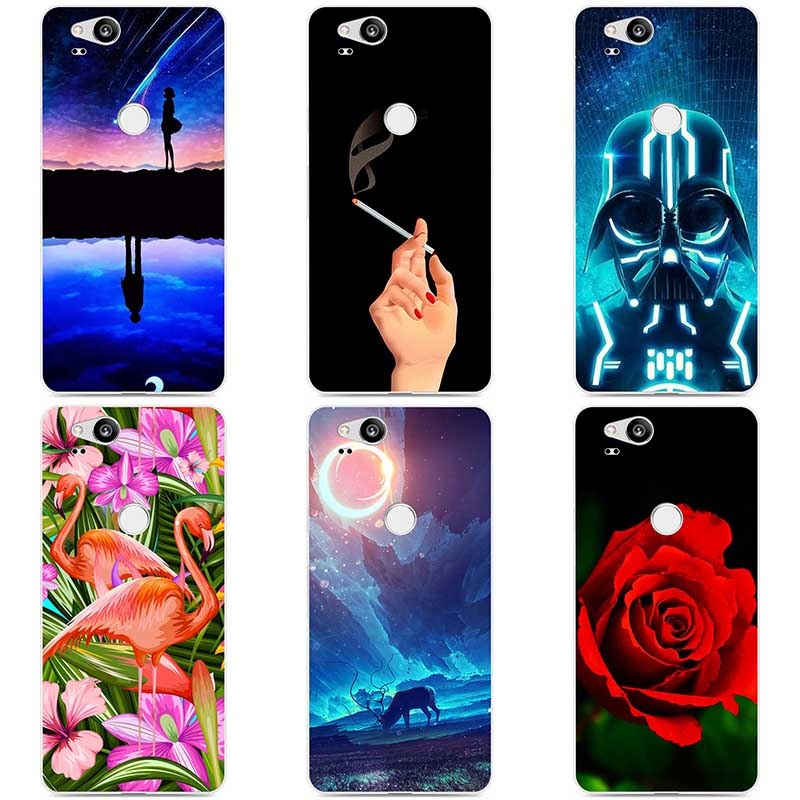 Colorful Painted Soft Silicone Cases For Google Pixel 2 Animal Phone Cases Covers Soft For Google Pixel 2 Flower Cover Coque