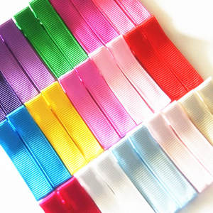Free shipping 1000pcs 4.5cm Single Pronge Clip Ribbon Wrapped Barrettes DIY Hair Clip