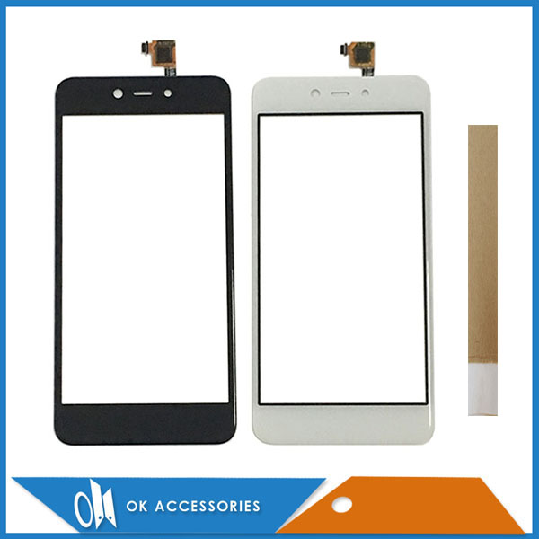 5.2 Inch For BQ Mobile BQ-5211 Strike BQ 5211 BQS 5211 Touch Screen Digitizer Black White Color With Tape