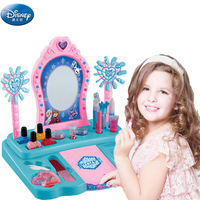 princess girls frozen elsa anna dressing table set makeup toys children's cosmetics Pretend Play birthday present