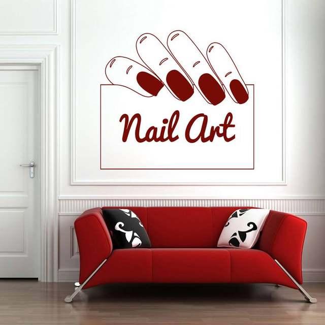 Online Shop DCTAL Nail Salon Sticker Nail Art Decal Name Posters ...