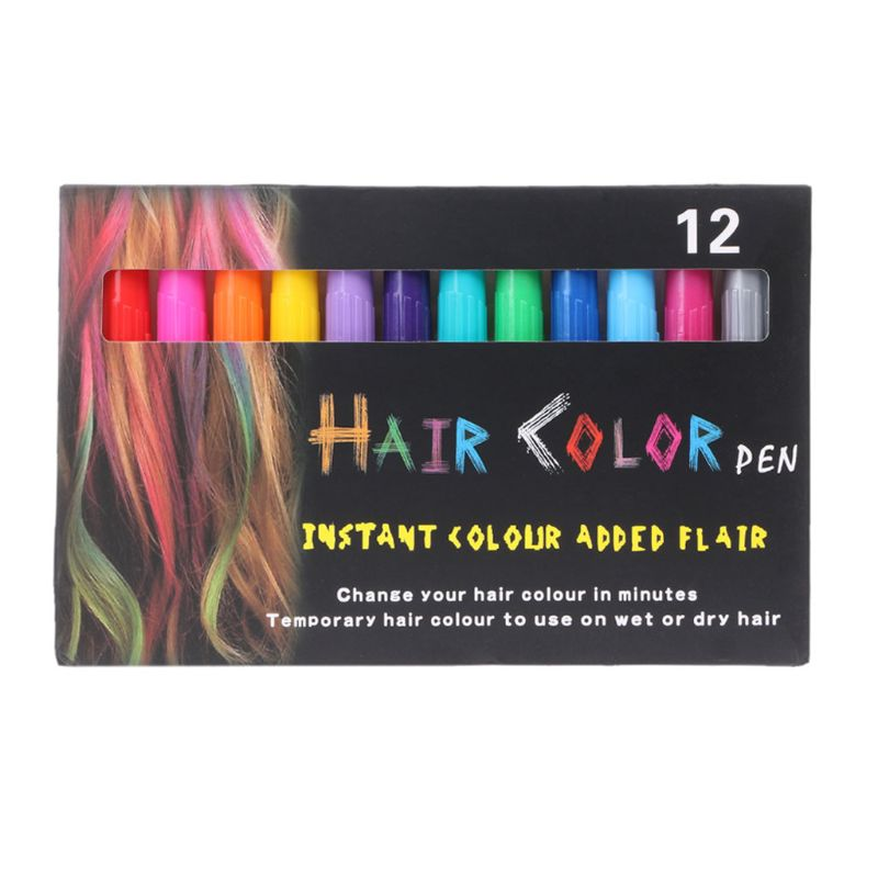 Detail Feedback Questions about 12PCS HAIR CHALK PENS Kids Toy Dye Hair  Washable Hair Color Safe For Kids Teen Party Favors Girls Gift Birthday  Gift on ...