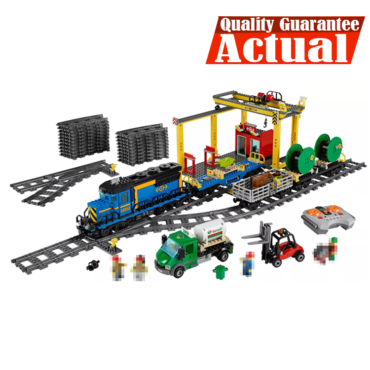 LEPIN 02008 City Trains Cargo Train Crane POWER FUNCTIONS 959PCS Building Blocks Bricks Toys Compatible with legoingly 60052