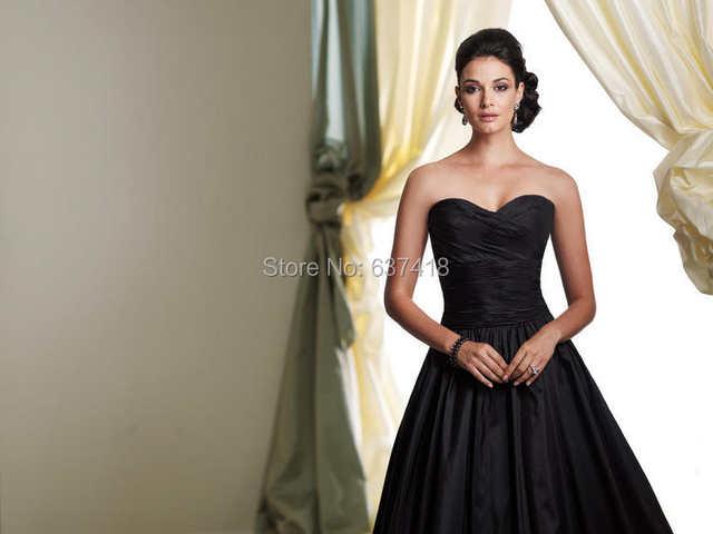 Online Shop Vestidos Long Taffeta Mother Of The Bride Dresses Plus