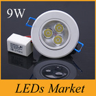 Dimmable 9w 12w  Led...