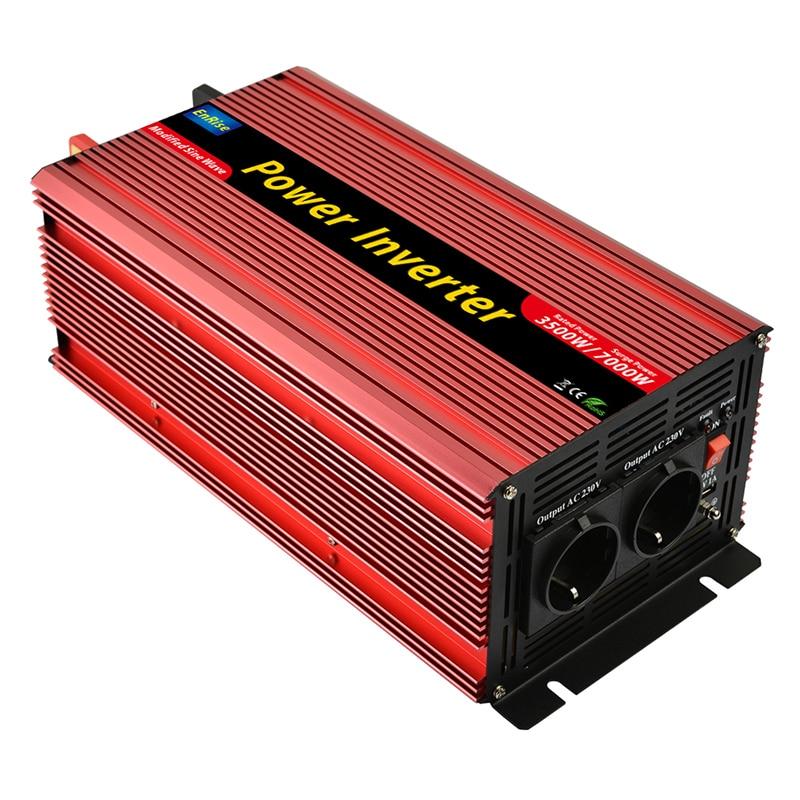 power inverter 3500W peak 7000W DC12V to AC 220V 230V modified sine wave inverter with 5V