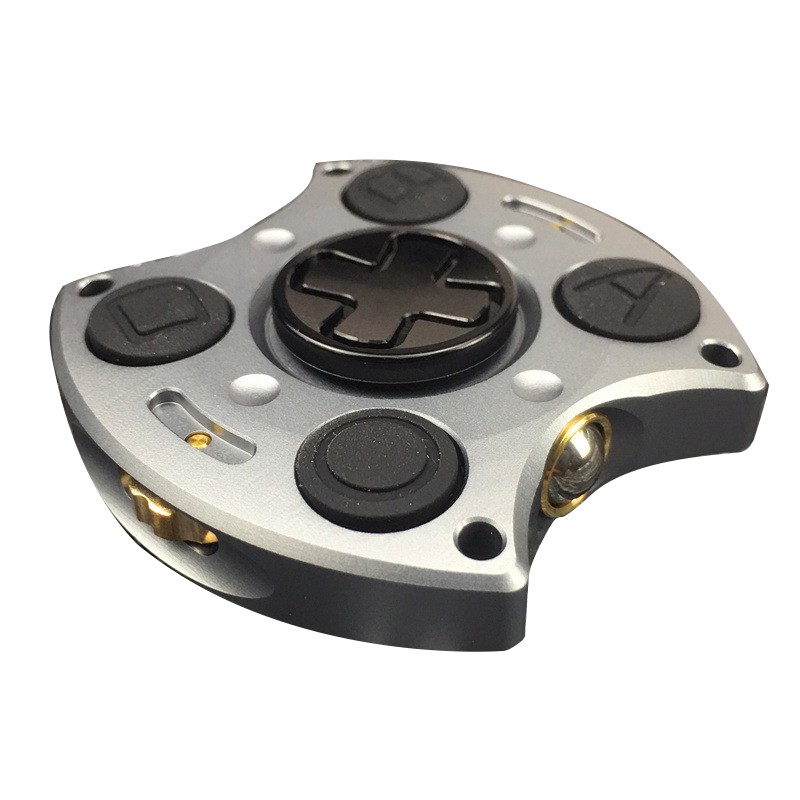 New !!! 2 In 1 Fidget Game Pad Metal Hand Spinner Gyro EDC Torqbar Brass Stress Toys Adult Gyro Finger Fidget Cube Spinner Toy infinity cube new style spinner fidget high quality anti stress mano metal kids finger toys luxury hot adult edc for adhd gifts