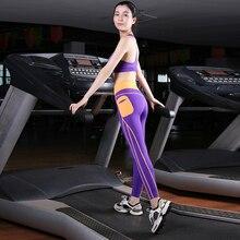 Professional Sports Suit Gym Fitness Yoga Runing Set Women's Tracksuit Shockproof Push Up Bra+ Sweat Wicking Elastic Leggings