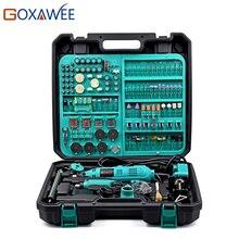 GOXAWEE 130 W Dremel Style À Vitesse Variable Électrique Outil Rotatif Électrique Mini Drill Grinder avec Accessoires Outils Électriques