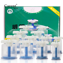 Healthy 12 Cups Medical Vacuum Cans Cupping Cup Cellulite Suction Cup Therapy Massage Anti cellulite Massager