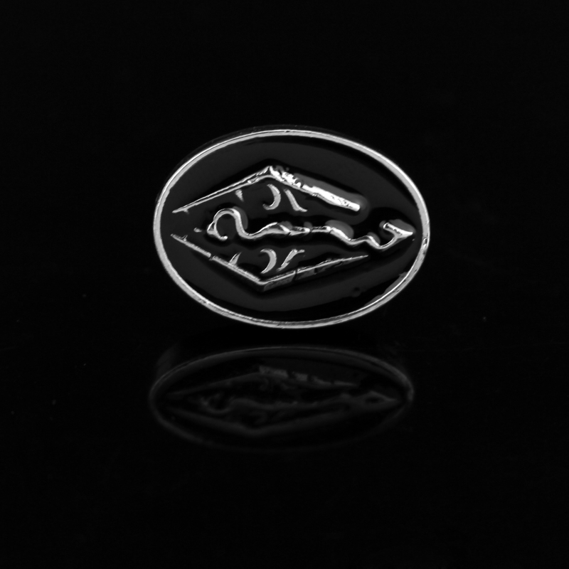 Динозавр The Elder Scrolls Скайрима дракон запонки tes Bethesda Game Jewelry Винтаж Для мужчин эксклюзивная запонки