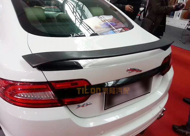 Auto carbon fiber spoiler for jaguar xf 2009201020112012 auto carbon fiber spoiler for jaguar xf 2009201020112012201320142015 high quality rear trunk spoilers in spoilers wings from automobiles publicscrutiny Image collections