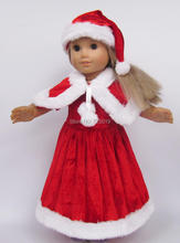 Free shipping!!! hot 2014 new style Popular 18″ American girl doll clothes/dressChristmas gift Baby clothes  b101