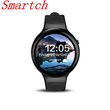 Smartch I4 Smart Watch 1GB RAM 16GB ROM Android 5.1 Heart Rate Bluetooth 4.0 WIFI 3G Smartwatch Phone Support Weather PK VS115 L