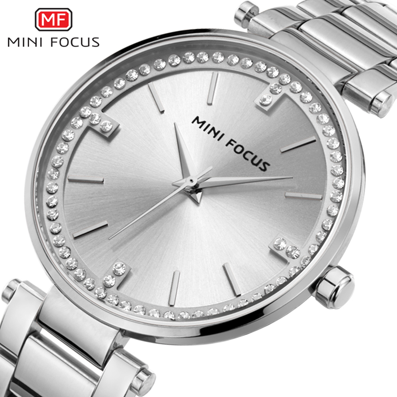 Image 3 - MINI FOCUS Women Watches Waterproof Lady Watch Wrist Brand Luxury Fashion Ladies Womens Wristwatch Clock Woman Relogio FemininoWomens Watches   -
