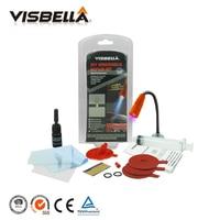 Visbella DIY Voorruit Reparatie voorruit Glas Chip Crack Bullseye Herstellen Lijm Lijm voor Autoruit Reparatie Kit met uv lamp