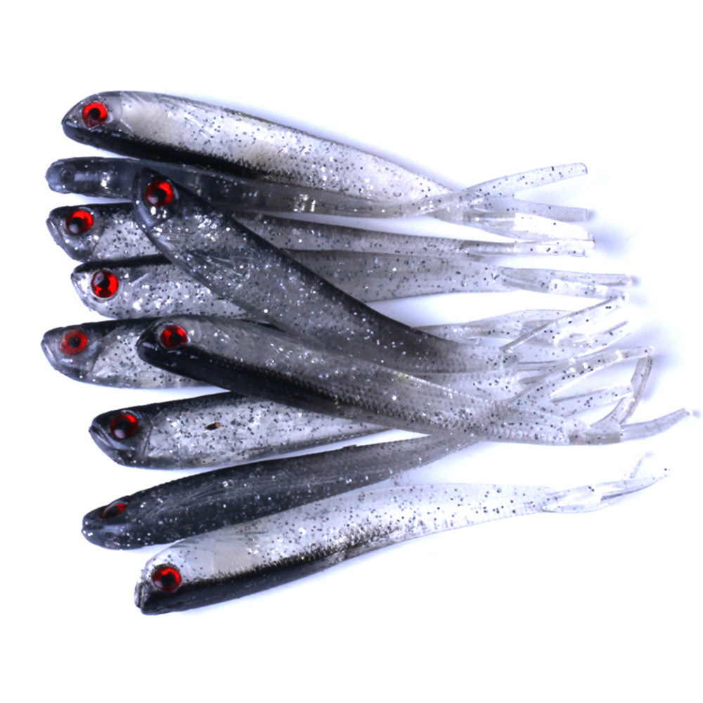 5pcs/lot Soft Lure 2g 4g 7g Silicone Swimbaits Isca Artificial Worm Soft Bait Fish Wobblers Bass Carp Flying Fishing Lure