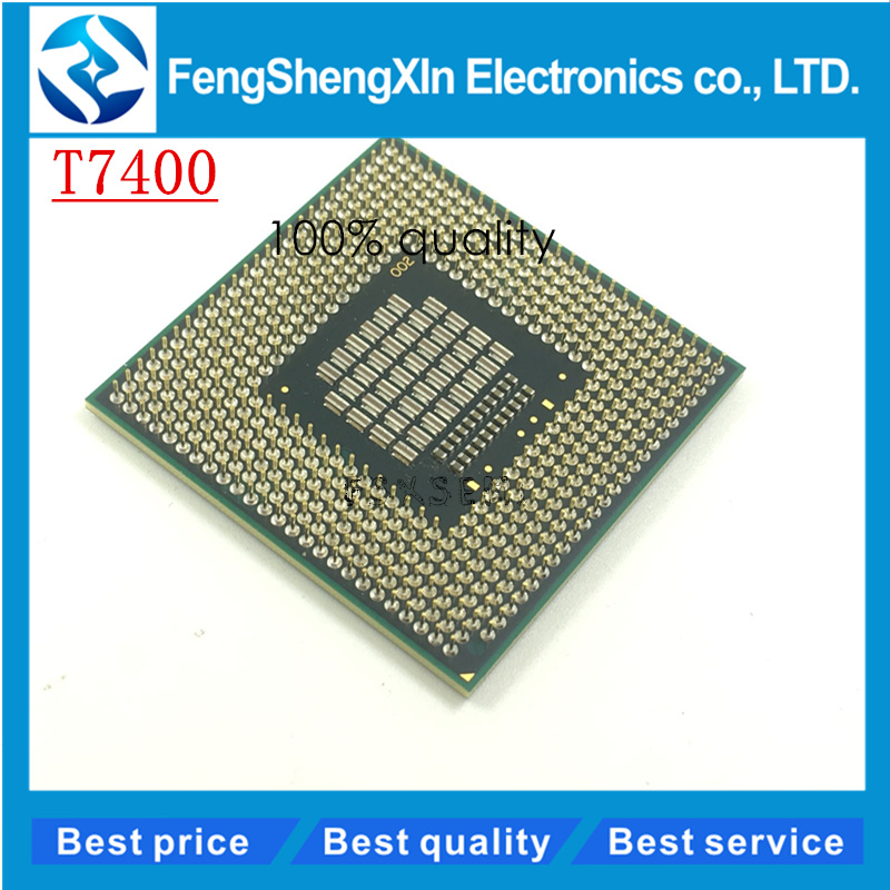 T7400 7400 CPU 4M Socket 479 Cache 2.16GHz 667 Dual-Core CAN WORK