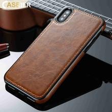 CASEIER PU Leather Phone Case For Samsung Galaxy Note 8 9 S9 S8 S6 S7 Edge Plus Retro J5 J7 Cover Fundas