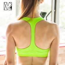 HTLD Gym I-shaped Sports Bra Tops Women Exercise Fitness Yoga Sport Tops Ladies Bras for Running Tanks Sujetador Deportivo By163
