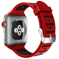 Sport Cover For Apple Watch Series 3 1 2 38mm 42mm Strap Band Silicone Sports Waterproof