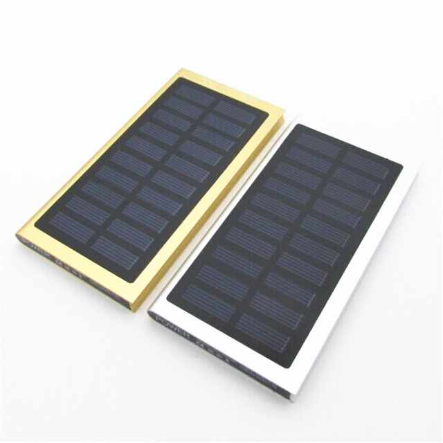 Ultra-thin Solar Power Bank 20000 mAh