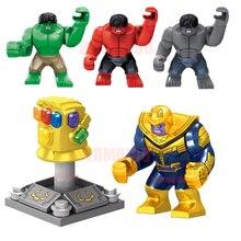 SuperHeros Marvel Avengers Military Figures Building Blocks Sets Kids Toy Bricks deadpool Friends spiderman Hulk Batman DBP550