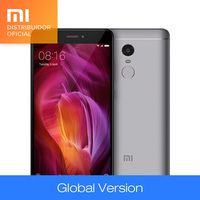 Original Global Version Xiaomi Redmi Note 4 Qualcomm 4GB 64GB Octa Core Mobile Phone Snapdragon 625 13MP CE FCC 5.5 Inch
