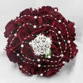 New Style Red  Wedding Bouquet Bridal Accessories Hydrangea Rose Flowers  Bride Decoration