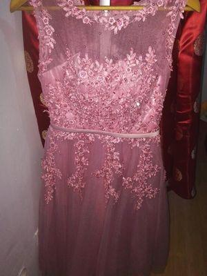 Haljina De Soiree 2019 nova čipka kratke večernje haljine Vez s - Haljina za posebne prigode - Foto 5