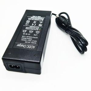 Image 3 - HK Liitokala 54.6V2A şarj cihazı 54.6 v 2A elektrikli bisiklet lityum pil şarj cihazı için 48 V lityum pil paketi 54.6V2A şarj cihazı