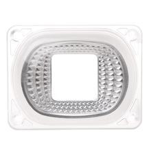 Светодиодный отражатель объектива для светодиодный COB лампы PC объектив+ отражатель+ Силиконовое кольцо