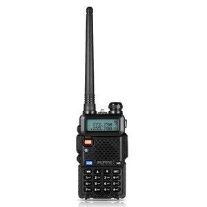 Image 1 - BF UV5R Walkie talkie Manual Frequency Modulation 10KM Communication Distance 5W Power UV Dual frequency Security Walkie Talkie